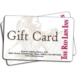 The Red Lion Inn Gift Card Picture