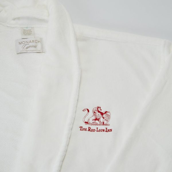 Red Lion Inn Logo, Bathrobe