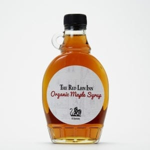 Image Of The Red Lion Inn Mape Syrup Bottle